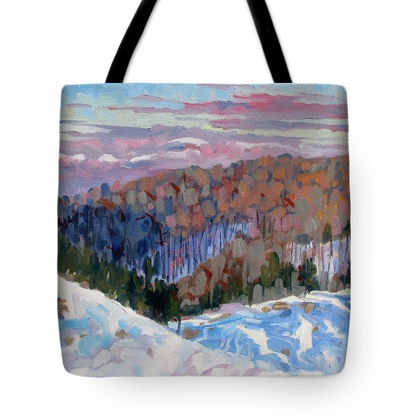 Waking Up Tote Bag by Phil Chadwick