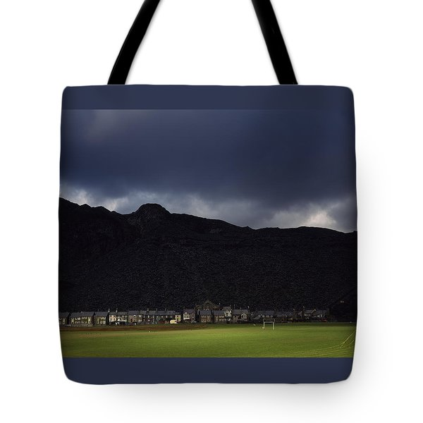 Wales Tote Bag by Shaun Higson