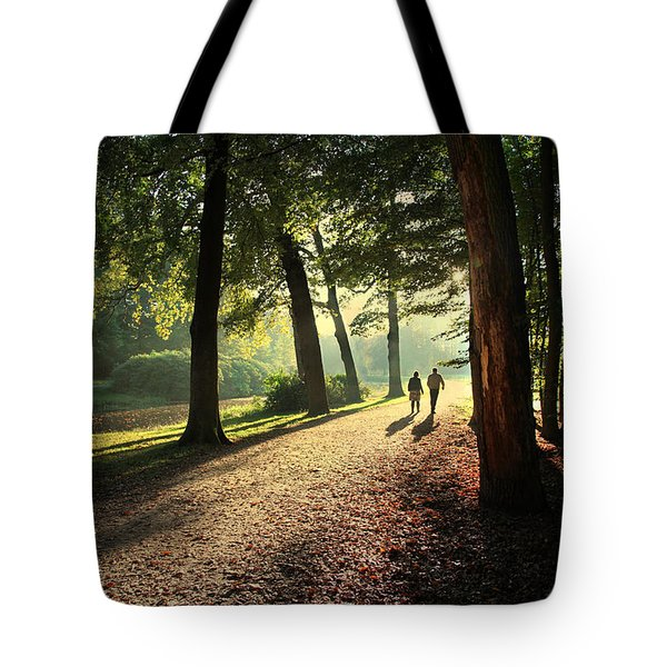 Walk Tote Bag by Annie Snel
