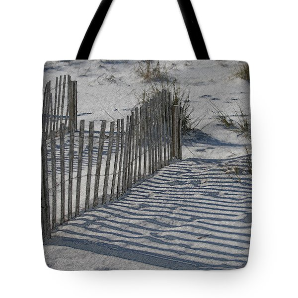 Walk Around Life's Barriers Tote Bag by Kathleen Scanlan