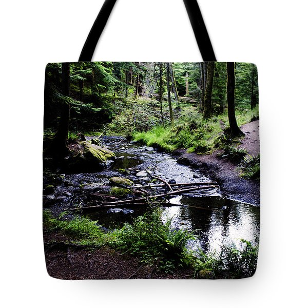 Walk By The Water Tote Bag