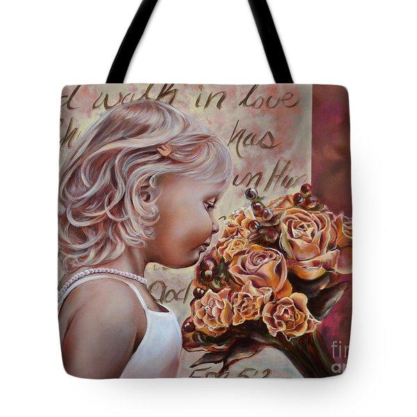 Walk In Love Tote Bag