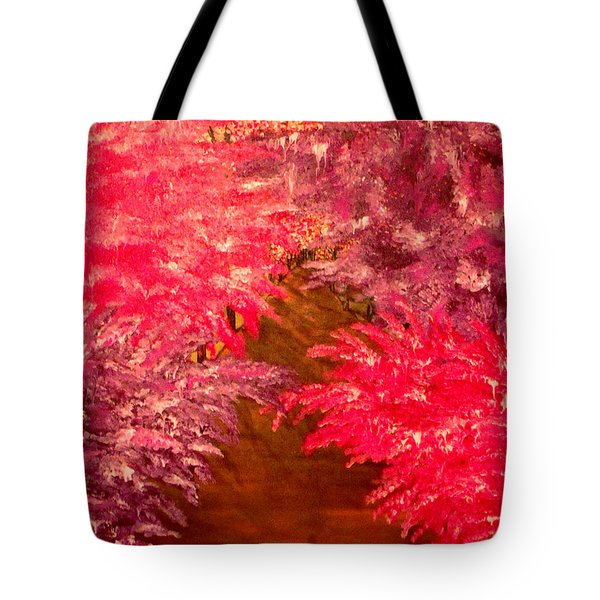 Walk In The Park Tote Bag by Mark Moore