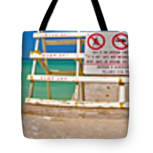 Walk Into Water Tote Bag