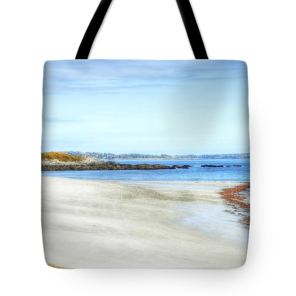 Walk On The Beach Tote Bag