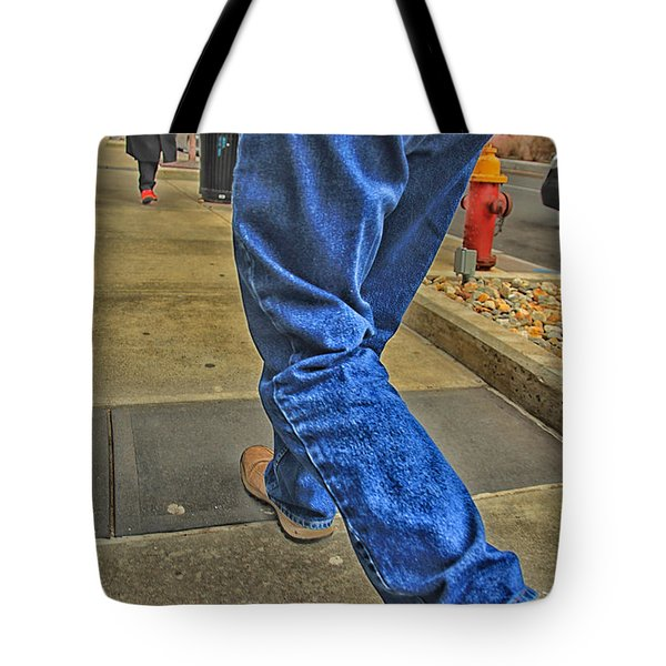 Walk The Truth Tote Bag by Karol Livote