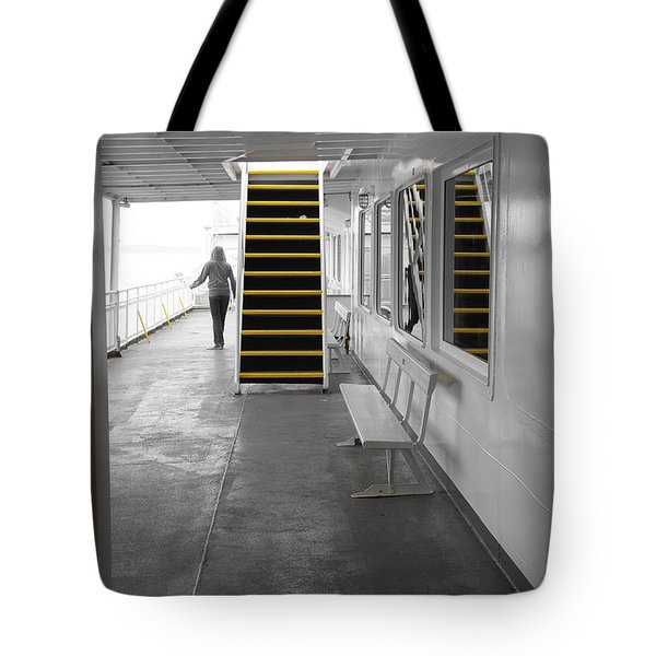 Tote Bag featuring the photograph Walk This Way by Marilyn Wilson