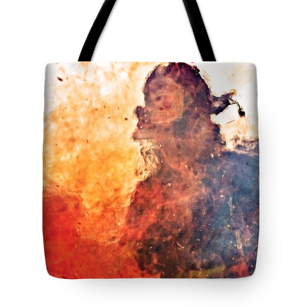 Walk Through Hell Tote Bag by Everet Regal
