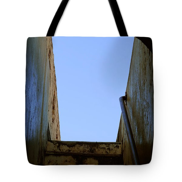 Walk To The Sky Tote Bag