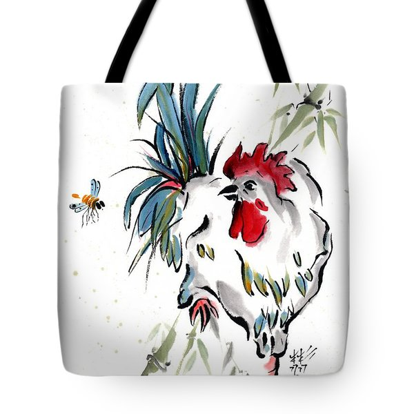 Tote Bag featuring the painting Walkabout by Bill Searle
