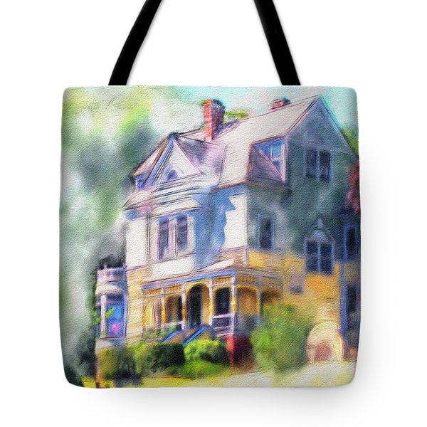 Walker - Ames House Tote Bag by Bob Galka