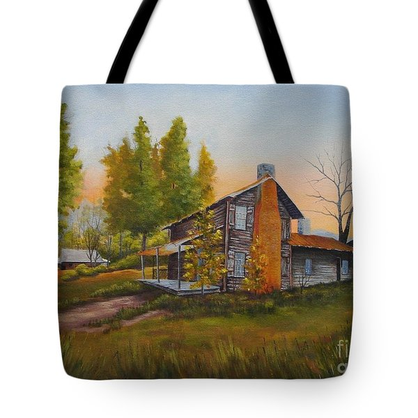 Walker Homeplace #3 Tote Bag