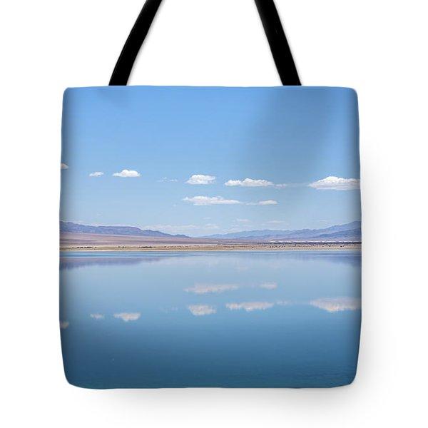 Walker Lake Mirror Tote Bag
