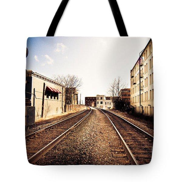 Walkers Point Railway Tote Bag