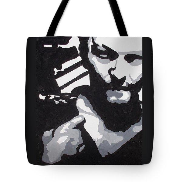 Walking Dead Daryl Close Tote Bag