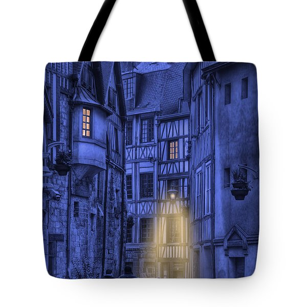Walking Into The Past Tote Bag by Jean-Pierre Ducondi