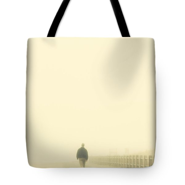 Walking Into The Unknown Tote Bag by Karol Livote