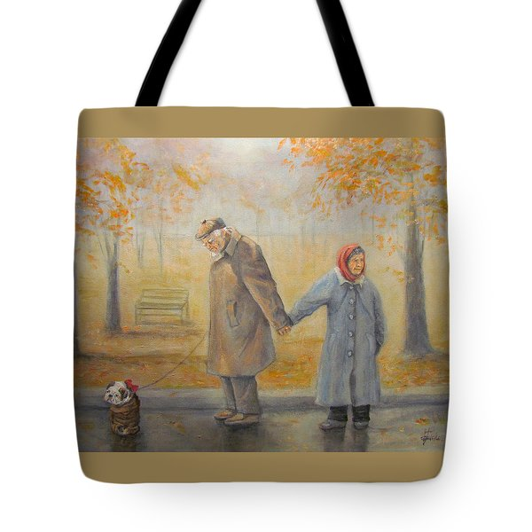 Walking Miss Daisy Tote Bag