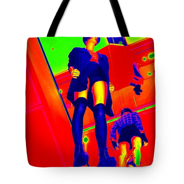 Walking On Air Tote Bag by Ed Weidman