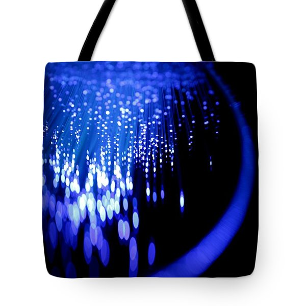 Walking On The Moon Tote Bag by Dazzle Zazz