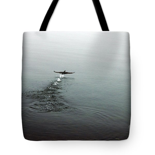 Tote Bag featuring the photograph Walking On Water by Randi Grace Nilsberg