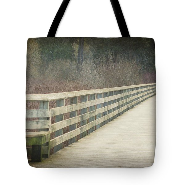 Walking Softly Tote Bag