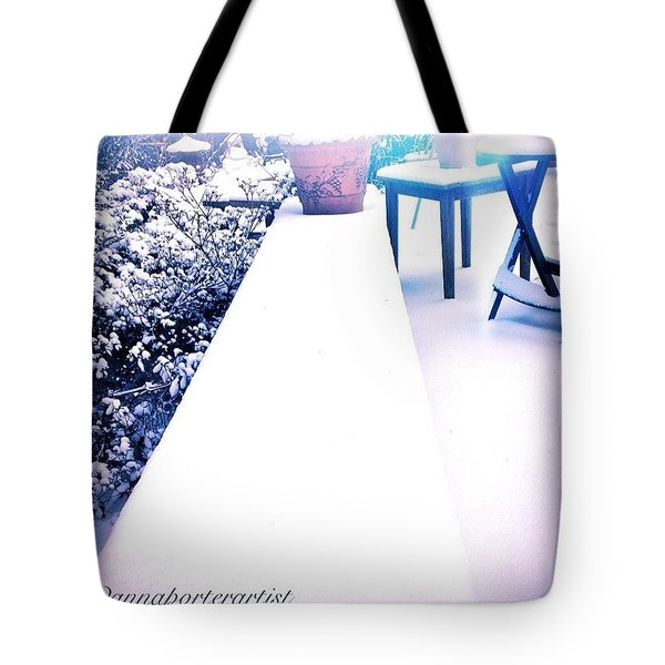 Walking The Straight And Narrow Path Tote Bag