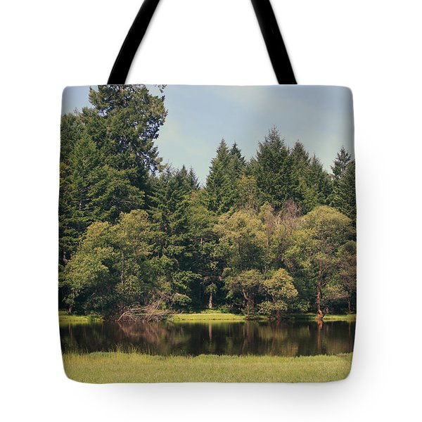 Walking Through The Grass Tote Bag by Laurie Search