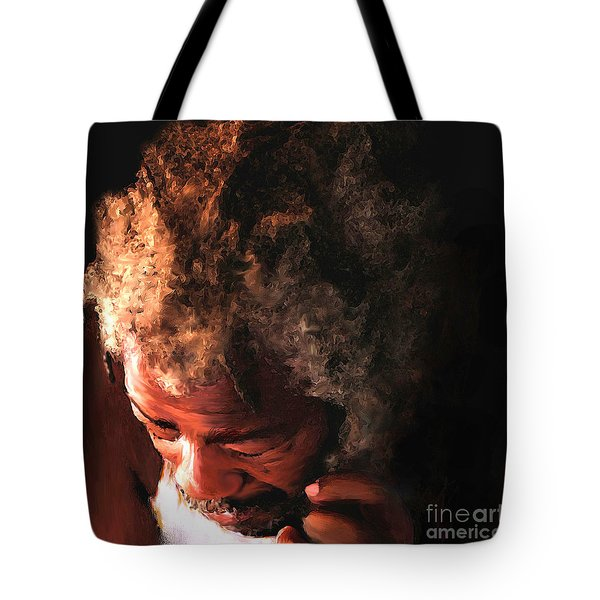Walking To New Orleans Tote Bag