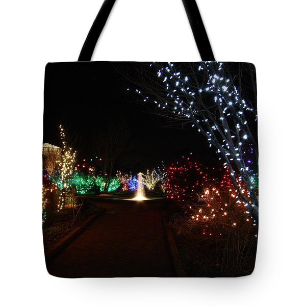 Walking Toward A Spectrum Of Delight Tote Bag