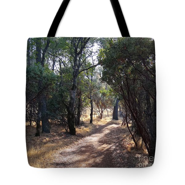 Walking Trail Tote Bag