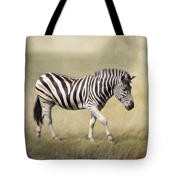 Walking With The Sun Tote Bag