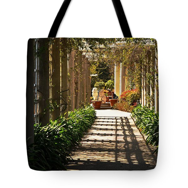 Walkway Tote Bag by Debby Pueschel