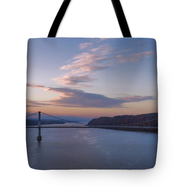 Walkway Over The Hudson Dawn Tote Bag