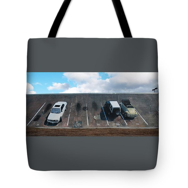 Wall Grabbers Tote Bag by Blue Sky