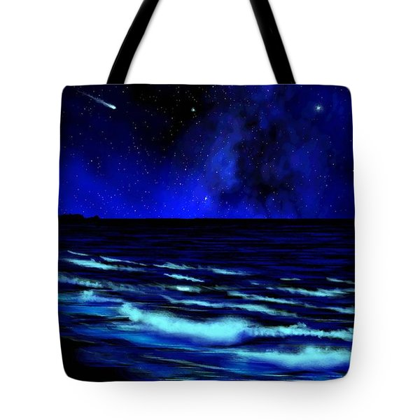 Wall Mural Bali Hai Tunnels Beach Kauai Tote Bag