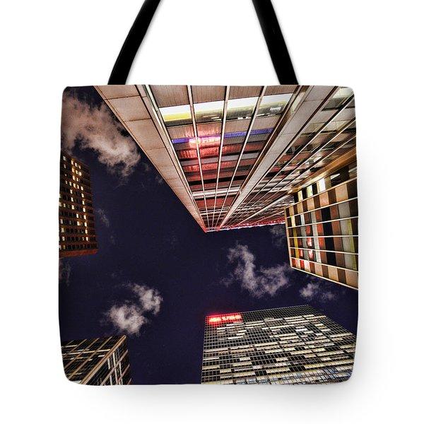 Wall Street Tote Bag by Paul Ward