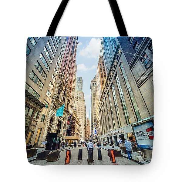 Wall Street Tote Bag by Ray Warren