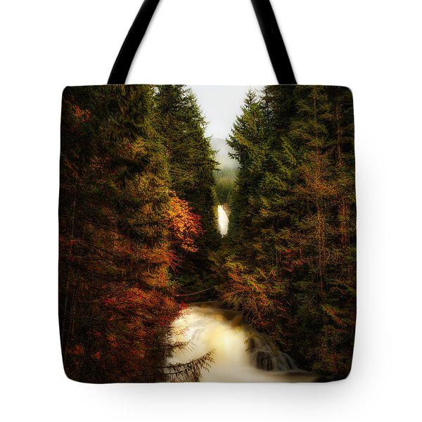 Wallace Fall North Fork Tote Bag