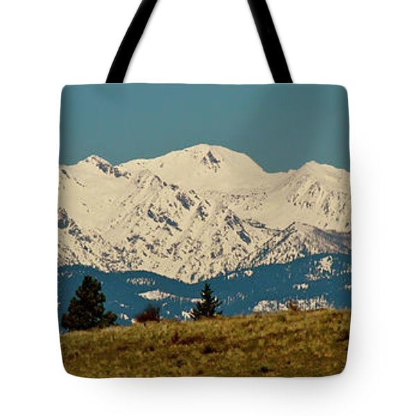 Wallowa Mountains Oregon Tote Bag by Ed  Riche