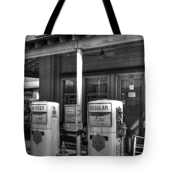 Wally's Service Station Tote Bag