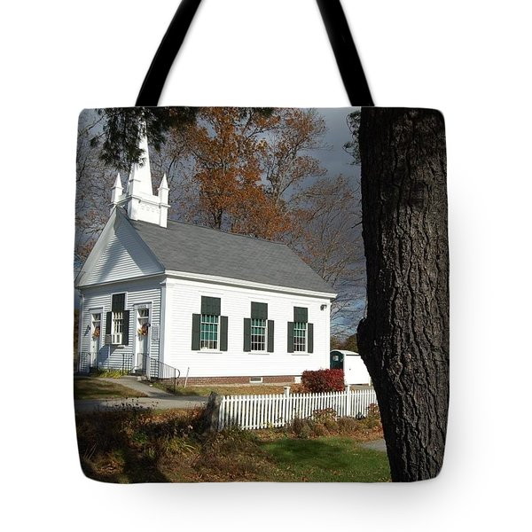 Tote Bag featuring the photograph Walnut Grove by Mim White