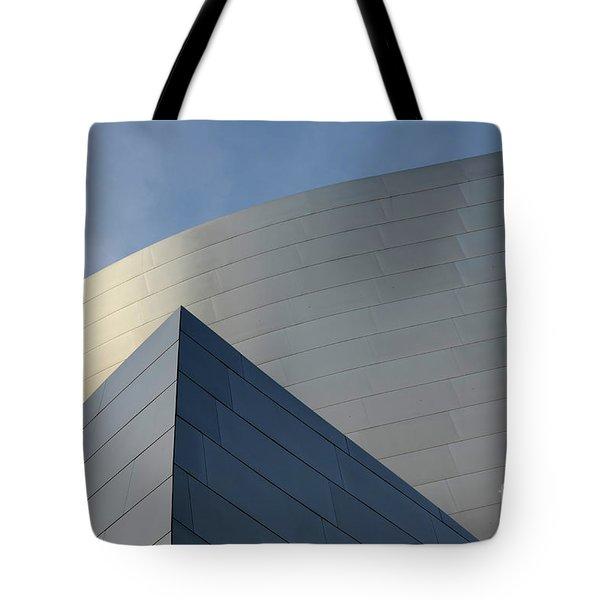 Walt Disney Concert Hall 3 Tote Bag by Bob Christopher