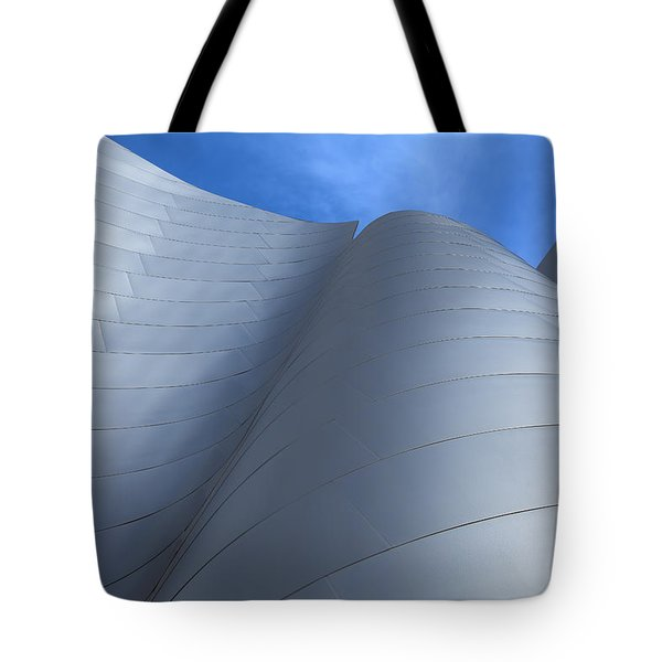 Walt Disney Concert Hall Architecture Los Angeles California Abstract Tote Bag