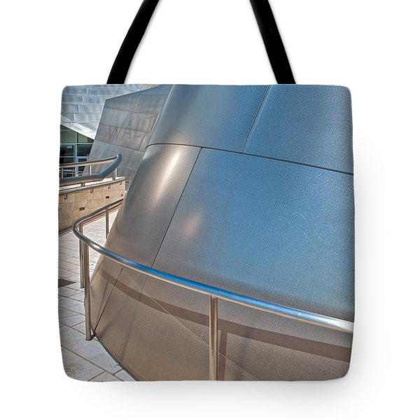 Walt Disney Concert Hall Music Hall Downtown Los Angeles Ca 3 Tote Bag by David Zanzinger
