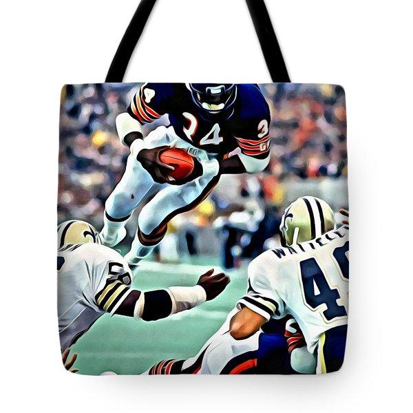 Walter Payton Tote Bag