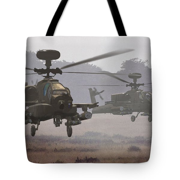 Waltz Of The Hunters Tote Bag by Dieter Carlton
