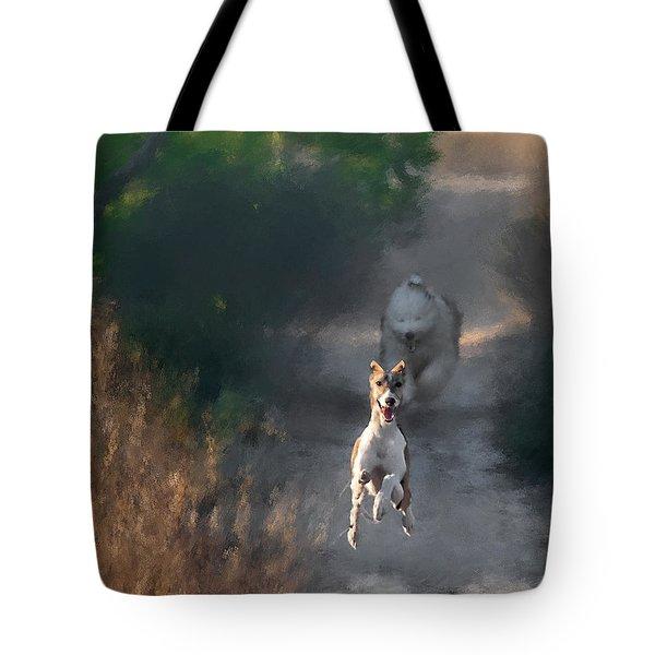 Tote Bag featuring the photograph Wanda by Juan Carlos Ferro Duque