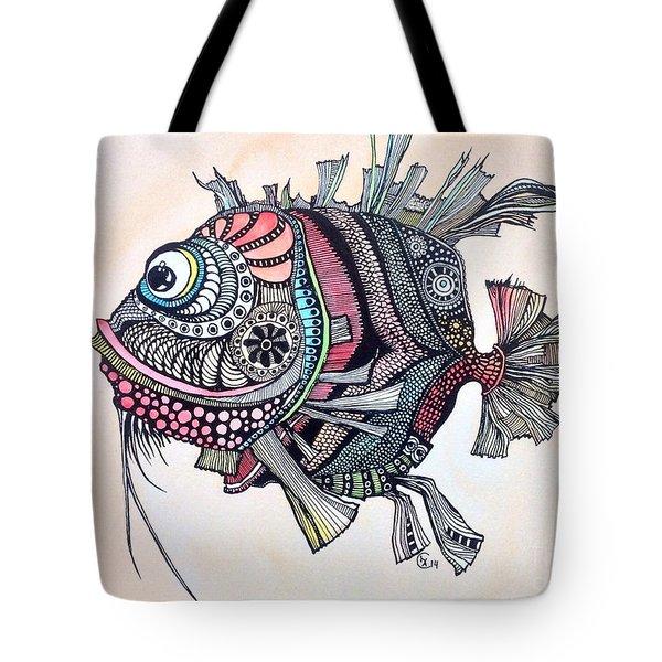 Wanda The Fish Tote Bag by Iya Carson