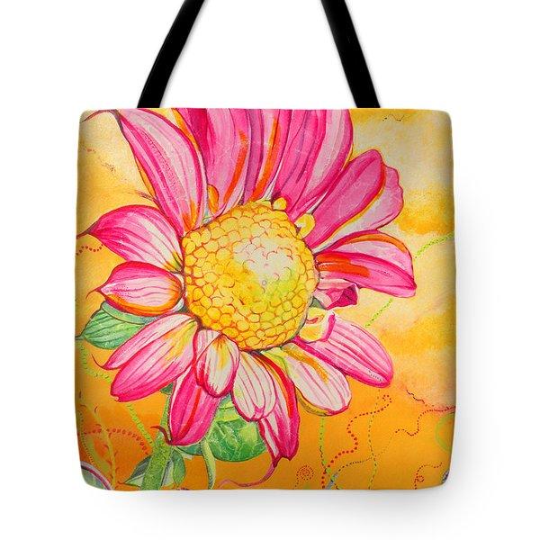 Wanda The Windblown Tote Bag by Christine Belt